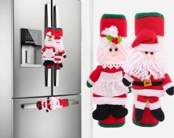 Refrigerator Handle Covers Oven Door Knob Cover Handle Protector Home Kitchen