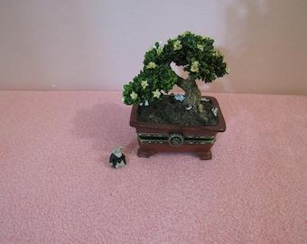 Mini Artificial Dollhouse Bonsai Pot 1//12 Dollhouse Miniature Garden Accessory