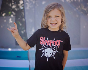 SLIPKNOT cartoon 4 t-shirt kids clothing boy girl shirt children toddler unisex