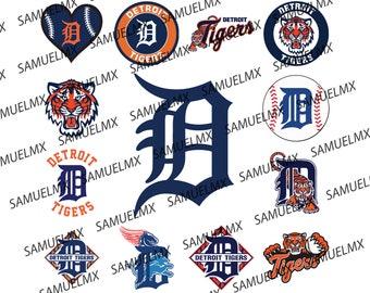 Detroit Tigers Color Etsy