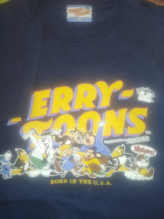 Vintage Terry Toons T-Shirts Copyright 90s