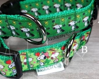 Shamrock Patrick/'s Day Girl Dog Flower and Collar Green Shamrock Dog Collar Flower Set; St