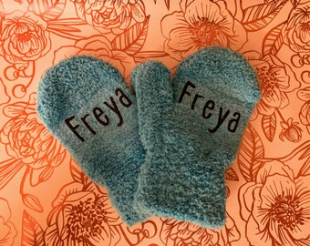 Personalized Kids Mittens