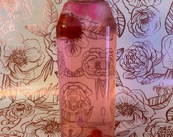 Valentine's Day Sensory Bottle | Montessori Inspired Toy | Educational Valentine