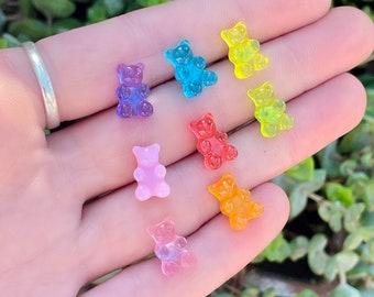 Mini Gummy Bear Earrings | Kids Jewellery | Novelty Earrings | Fun Earrings | Gifts for Kids | Cute Earrings | Kid's Earrings | Handmade