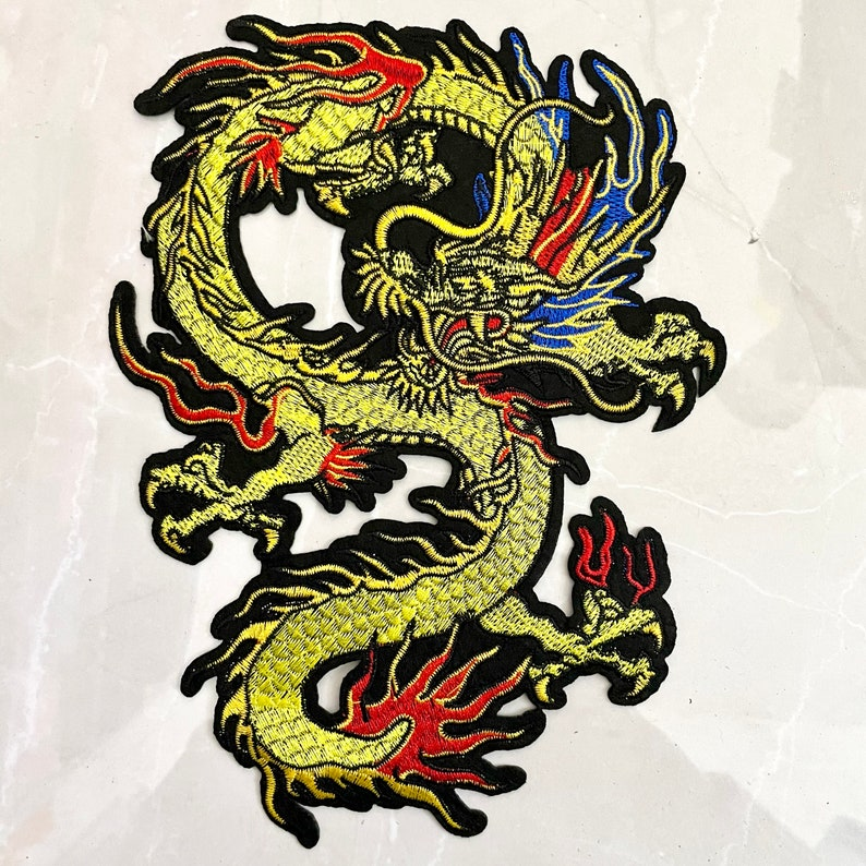 back dragon patch embroidered patch iron on patches