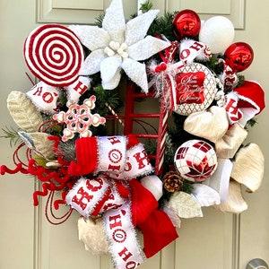 Christmas Wreaths for Front Door Christmas Mailbox Antique Mailbox Vintage Christmas Decor Cottagecore Decor