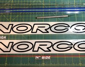 Norco Decal | Large Main Downtube (You get 2)