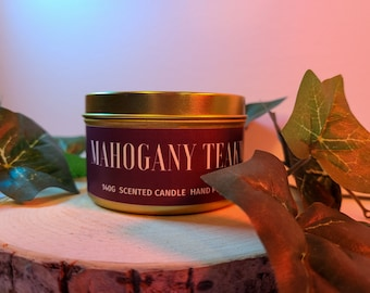 candle mahogany teakwood black raspberry vanilla Set of 3 Florece Candles bougie 7.23 Oz. butt naked Scented Candle Jar Bundle