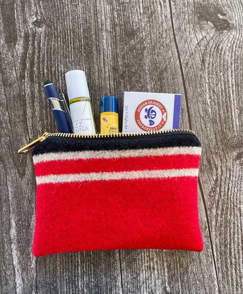 Coin Pouch appx 6 x 4 Pendleton\u00ae Wool Water Small Zipper Bag Essentials