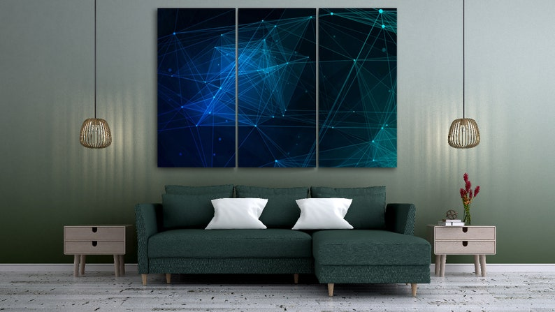 Blue Graphic Black Background Creative Design Abstract Technology Background Contemporary Style Cyberspace Design Brother Day
