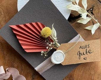 Dried Flowers Greetingcard