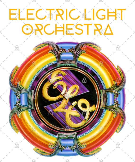 Electric Light Orchestra PNG For Print, Digital download, Sublimation