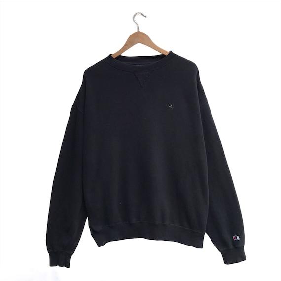 Vintage Champion Sweatshirt Spellout Crewneck Siz… - image 1