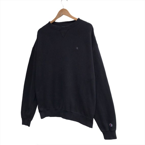 Vintage Champion Sweatshirt Spellout Crewneck Siz… - image 2