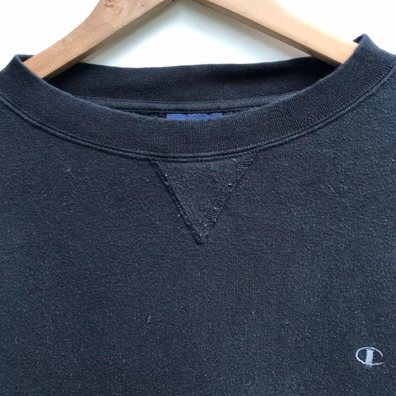 Vintage Champion Sweatshirt Spellout Crewneck Siz… - image 6