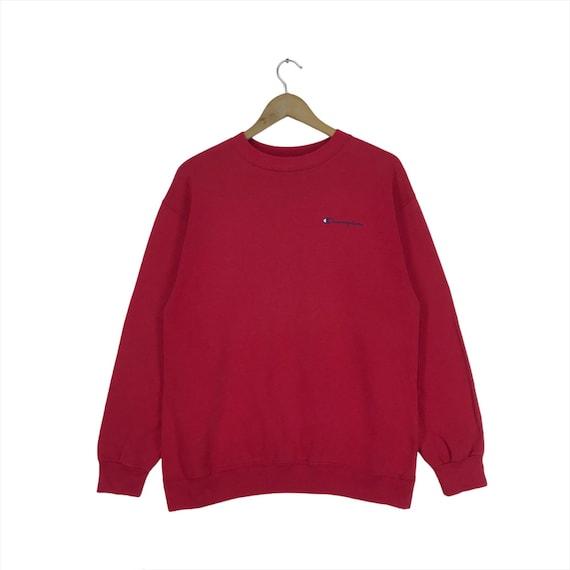 Vintage Champion Sweatshirt  Small Logo Pullover S