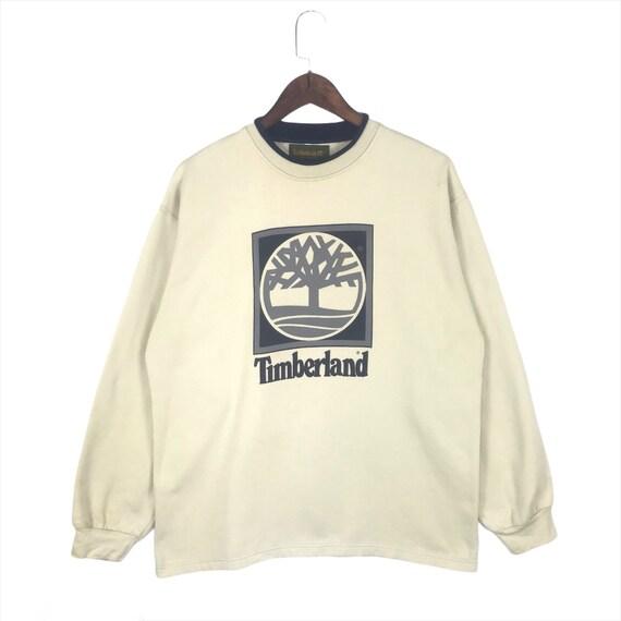 Vintage Timberland Big Logo Pullover Sweatshirt cr