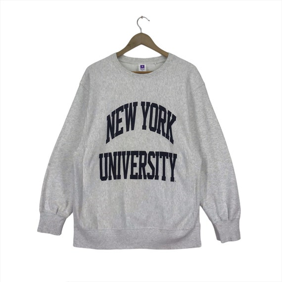 Vintage  New york University Big Logo Sweatshirt C