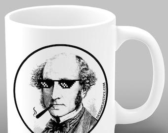 Thug Life John Stuart Mill Mug