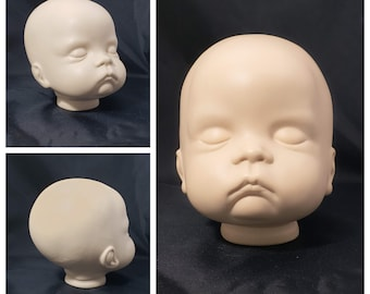 Vintage Sweet Baby Sugar Britches Reproduction Boot Tyner Biscuit Doll Head (large)