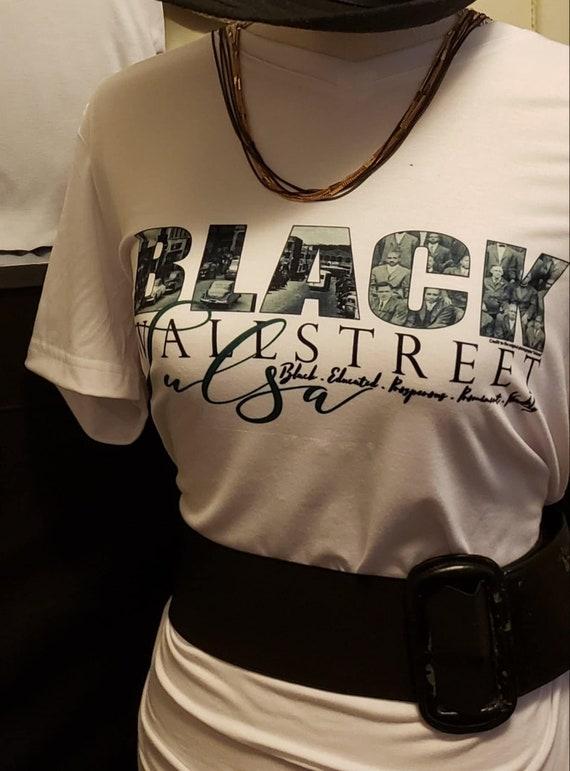 Black Wall Street Tee