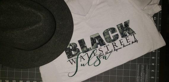 Tulsa Black Wallstreet T-Shirt