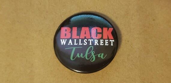 Black Wall Street Pin