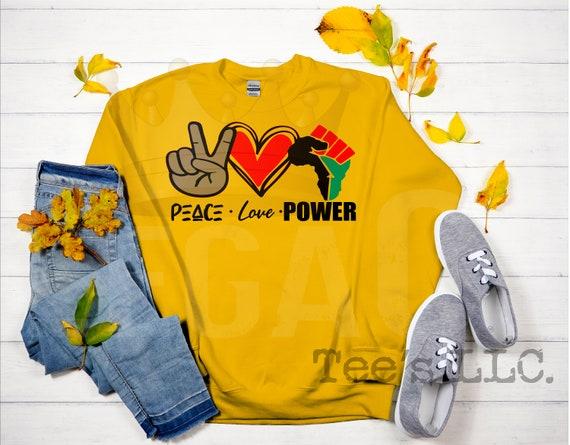 Peace . Love . Power
