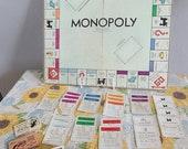 Vintage 1946 Monopoly Board Game.
