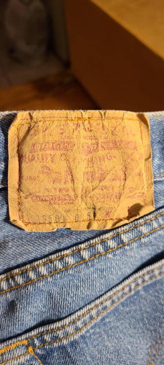 Vintage Levis 501 Jeans.