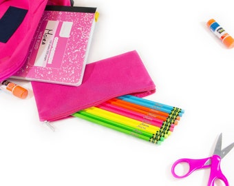 Personalized Neon Pencils | Customized School Supplies | Back to School | Teacher Appreciation Gifts