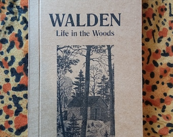 Walden, Life in the Woods by Henry David Thoreau
