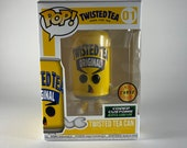 Custom Twisted Tea 4 Funko Pop Vinyl Collectible (POSSIBLE CHASE)