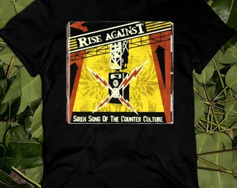 Rise Siren Song Of The Counter Culture Against Youth Sweaters Trendy Presents T-Shirt Gift For Fans Gift For Men