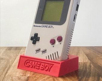 Game Boy DMG - Slim 3D Printed Display Stand