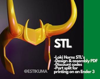 Loki Crown Headpiece - STL - Loki Tv Show