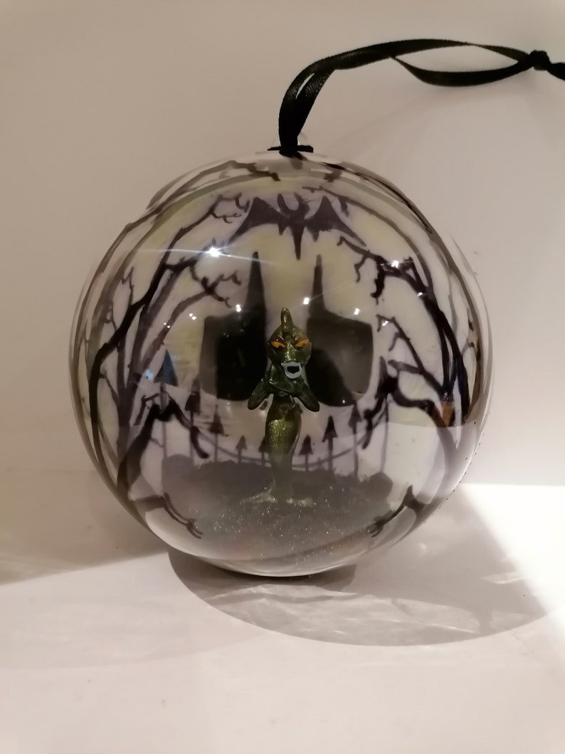 The Disney Store The Nightmare Before Christmas Undersea Gal Figure Christmas Tree Bauble Ornament Decorations Jack Skellington Skeleton