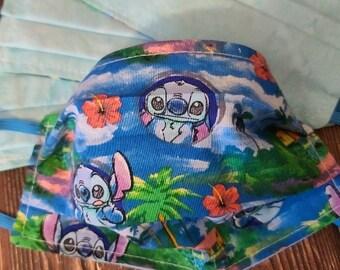 Kids/ Adult Stitch Face Mask