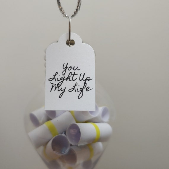 Ornament Filled With Love Notes