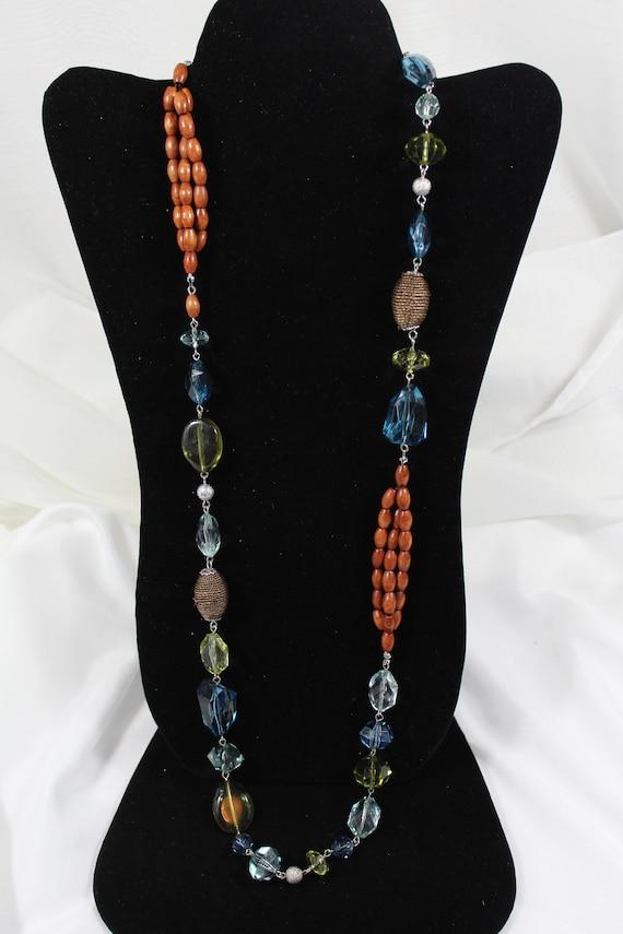 Vintage Necklace, Napier Necklace, Long Necklace,