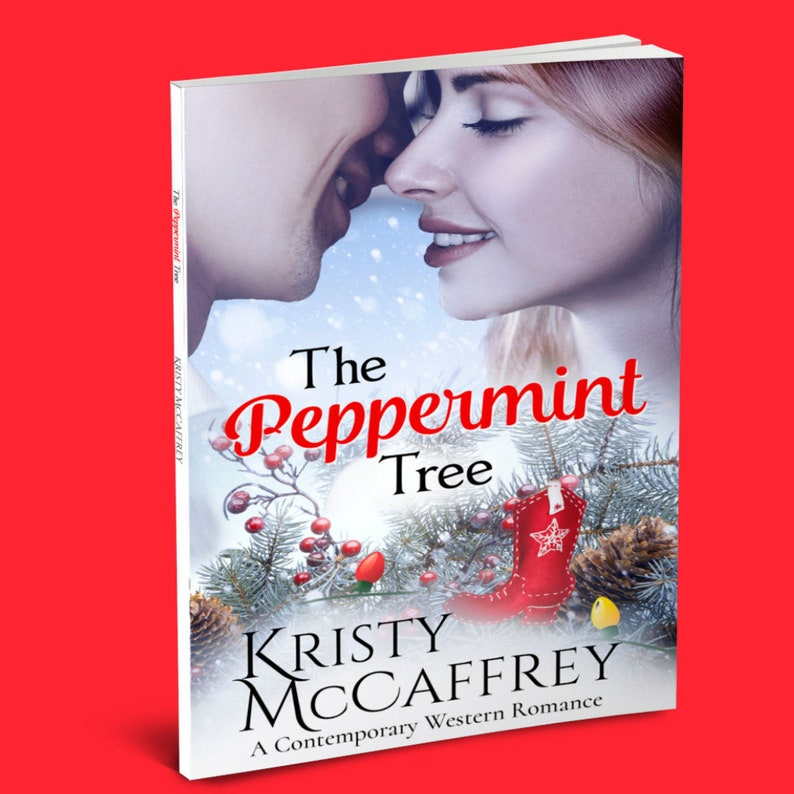 Signed Paperback of THE PEPPERMINT TREE by Kristy McCaffrey image 1