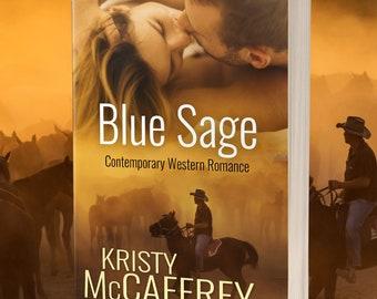 Signed Paperback of BLUE SAGE by Kristy McCaffrey