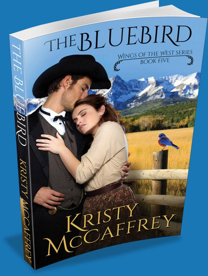 Signed Paperback of THE BLUEBIRD by Kristy McCaffrey image 1