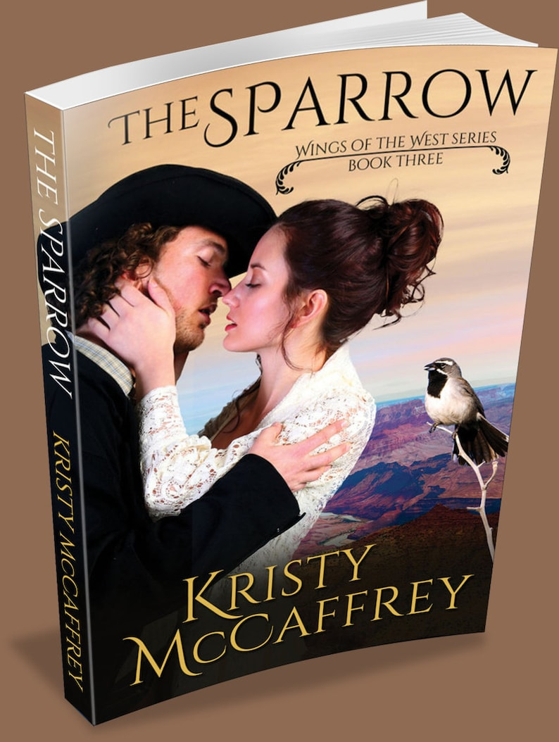Signed Paperback of THE SPARROW by Kristy McCaffrey image 1