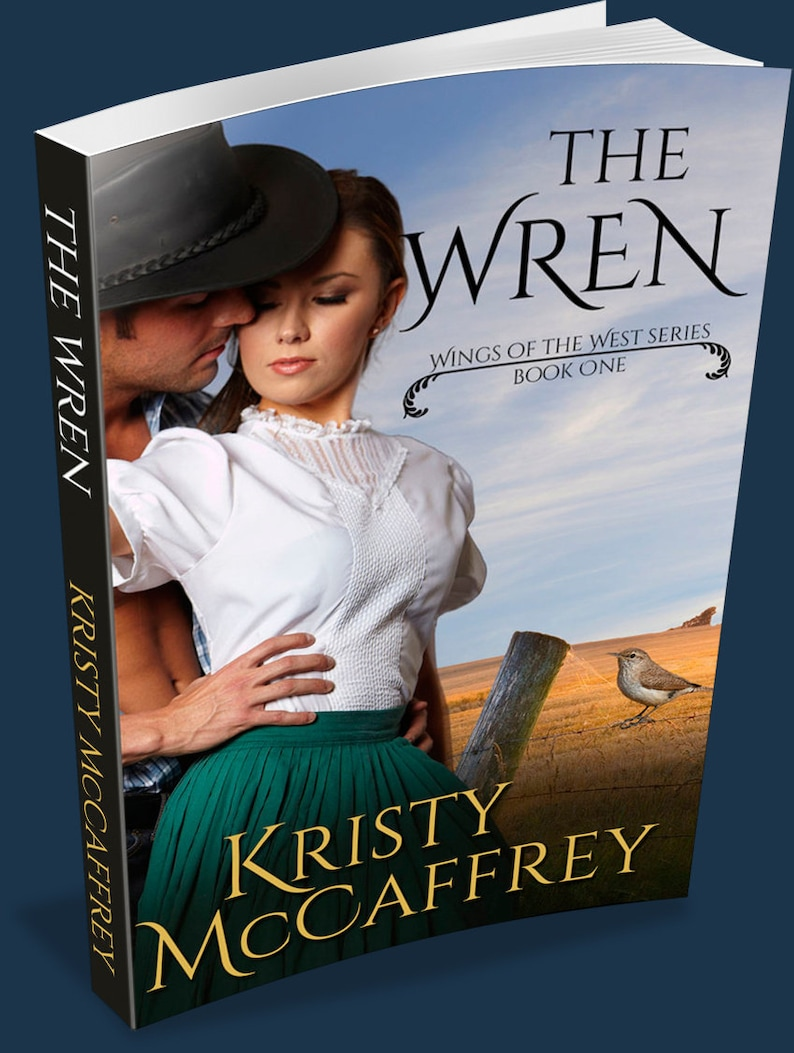 Signed Paperback of THE WREN by Kristy McCaffrey image 1