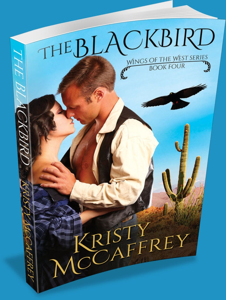 Signed Paperback of THE BLACKBIRD by Kristy McCaffrey image 1