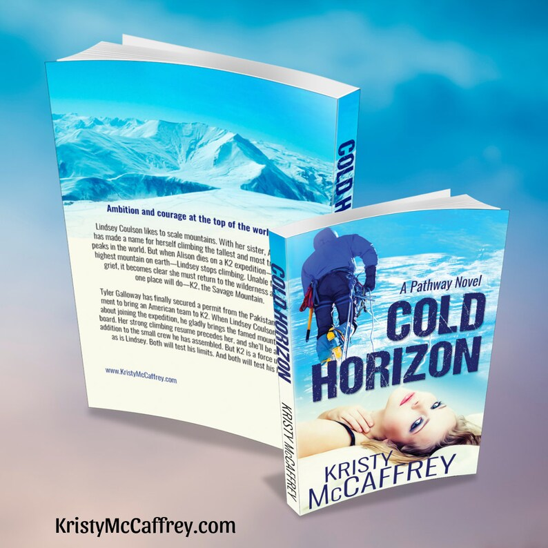 Signed Paperback of COLD HORIZON by Kristy McCaffrey image 1