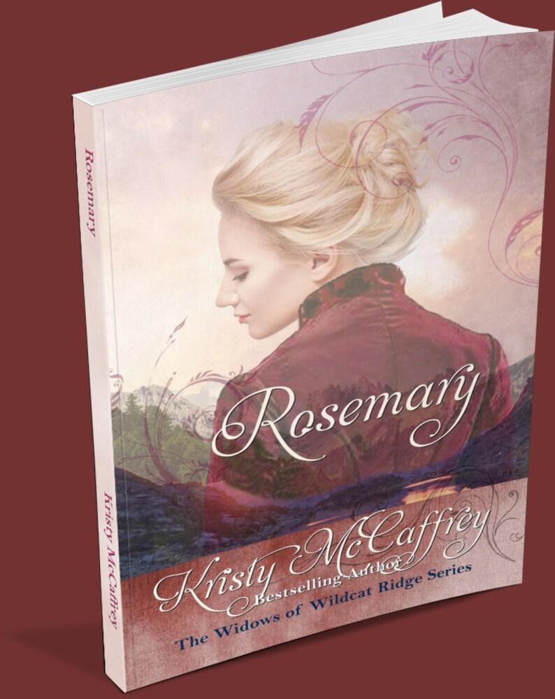 Signed Paperback of ROSEMARY by Kristy McCaffrey image 1