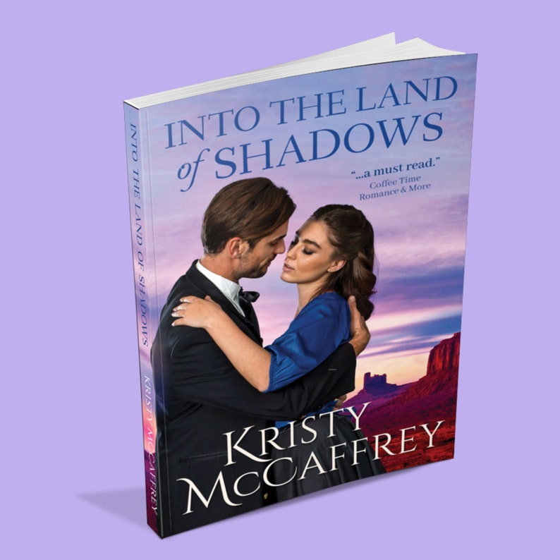 Signed Paperback of Into The Land Of Shadows by Kristy image 1